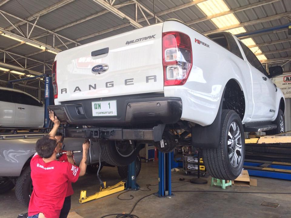 Ready to explore Ranger's 3.5 tons towing  	 3.5 ตัน