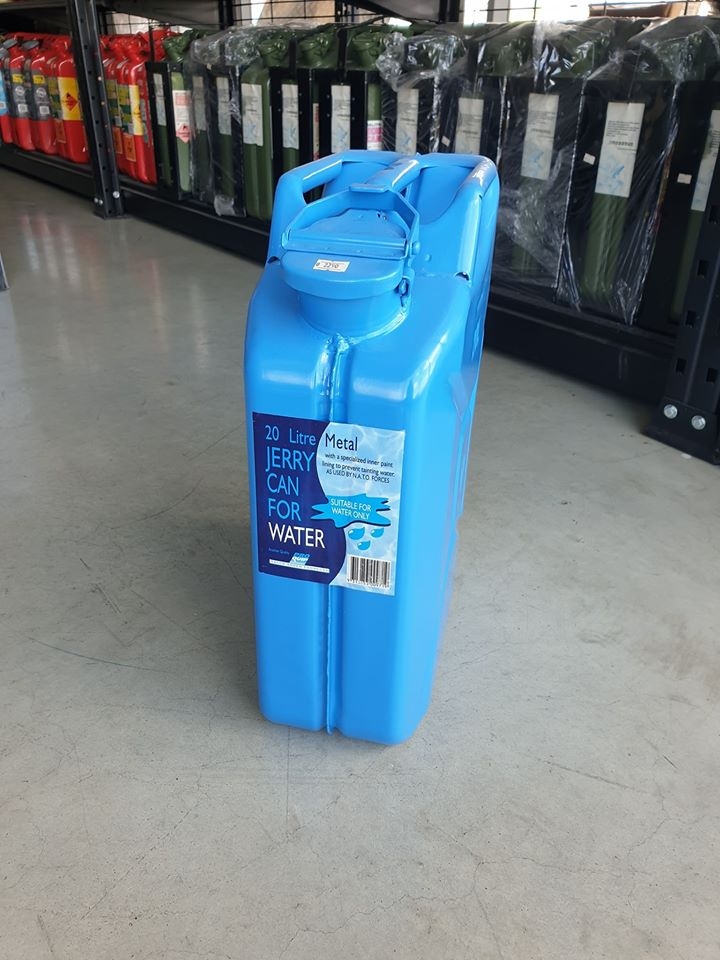 PROQUIP METAL JERRY CAN FOR WATER ราคา 2,290 บาท