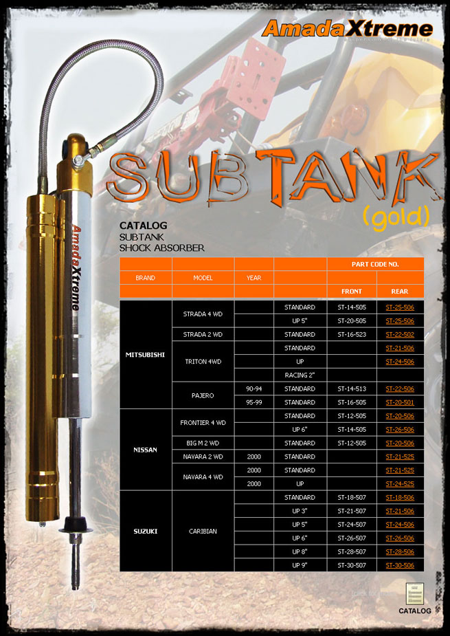 Amada Xtreme Shock Up รุ่น Subtank (gold & orange)