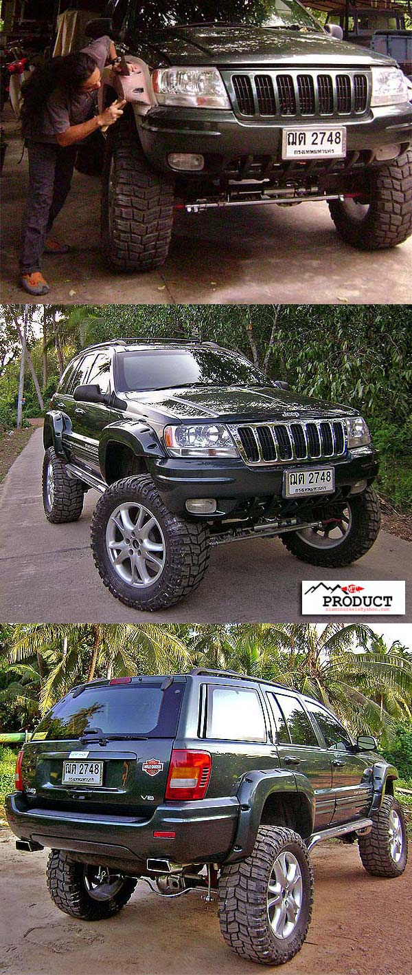 Jeep Grand Cherokee ZJ  FENDER FLARES