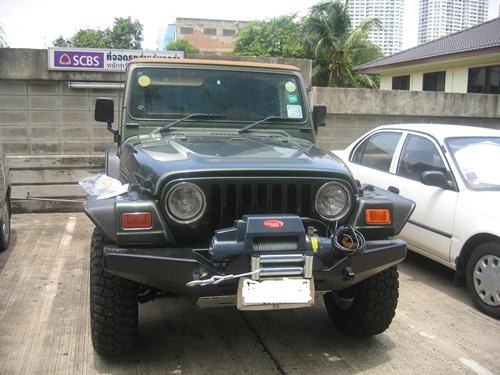jeep wrangler with 9500 i