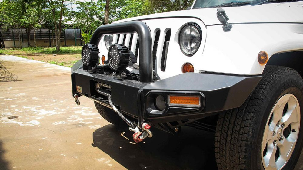 กันชนหน้า jungle4wd / PJ 115 Pick Up Brand JeepWrangler JK