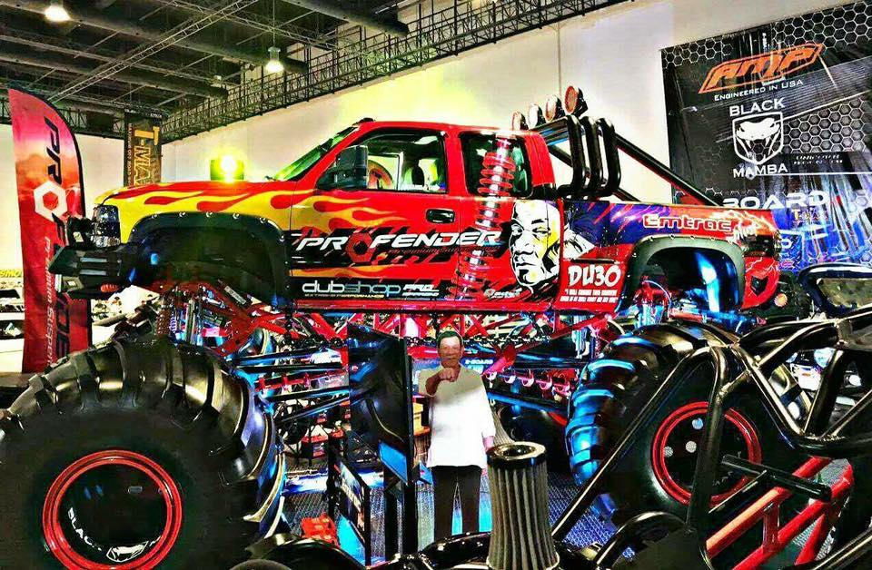 Thank for using Profender in Phillipine Auto 2017เครดิต : Profender Phillipine