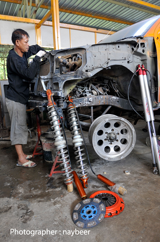 โช๊คอัพ Rubust Coil Over Shock 36""