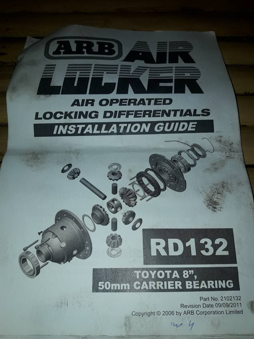 Part 12 Air Locker ARB ใส่ 106 (RD132)