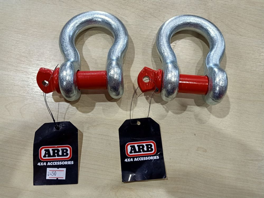 Bow Shackle.19 mm4.75 tonneRated type S อันละ 450 บาท