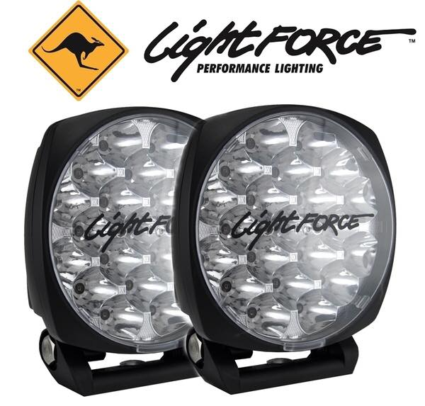 LIGHTFORCE GENESIS 210MM DRIVING LIGHT NEW TAWIN PACK WITH BONUS HARESS. ราคาทั้งเซ็ท. 29,900 บาท