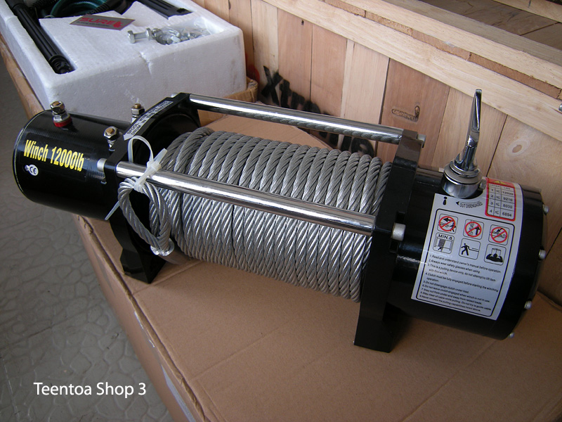 Sure Winch 12000 Lb 1 Speed