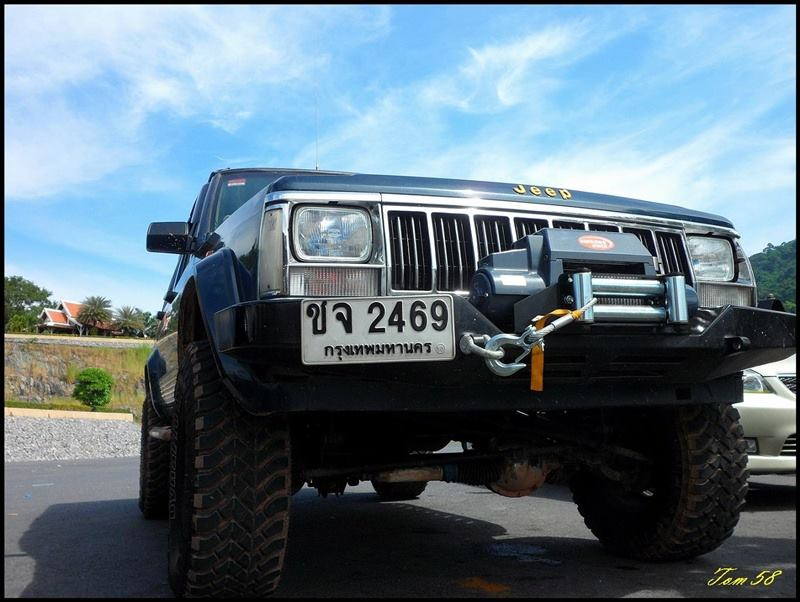 KINGONE WINCH ใน JEEP