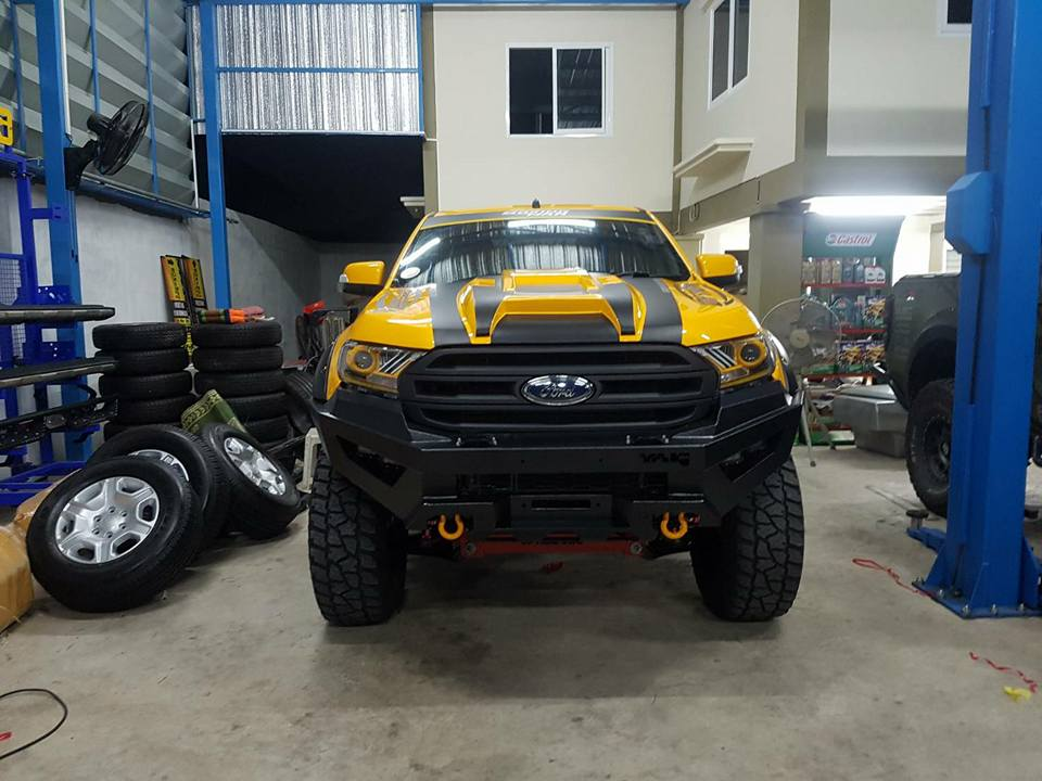 กันชน YAK รถ Ford ranger Mc by Boxing man
