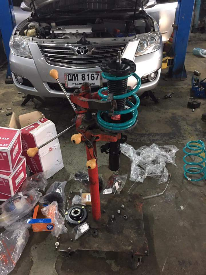 Dobinsons Suspension Thailand รถ Toyota Camry Coil Spring Dobinson