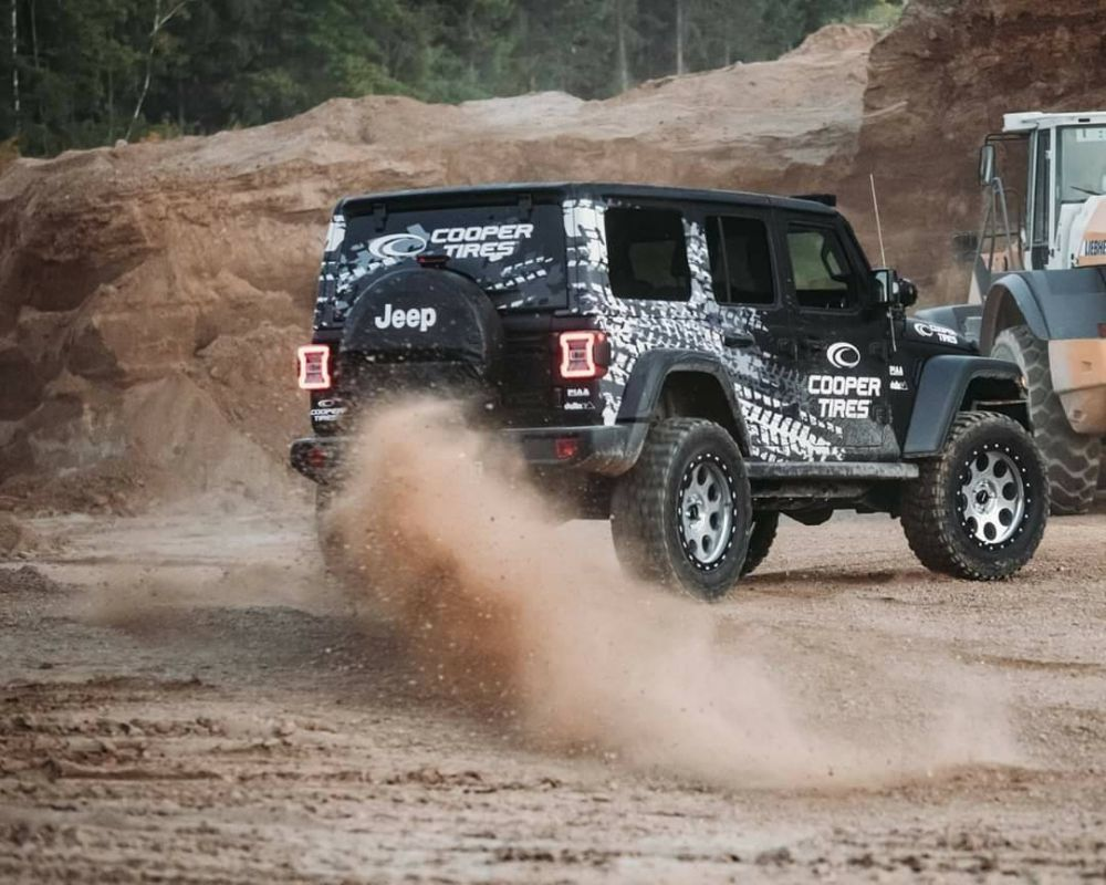 ยาง COOPER Tire JEEP WRANGLER JR