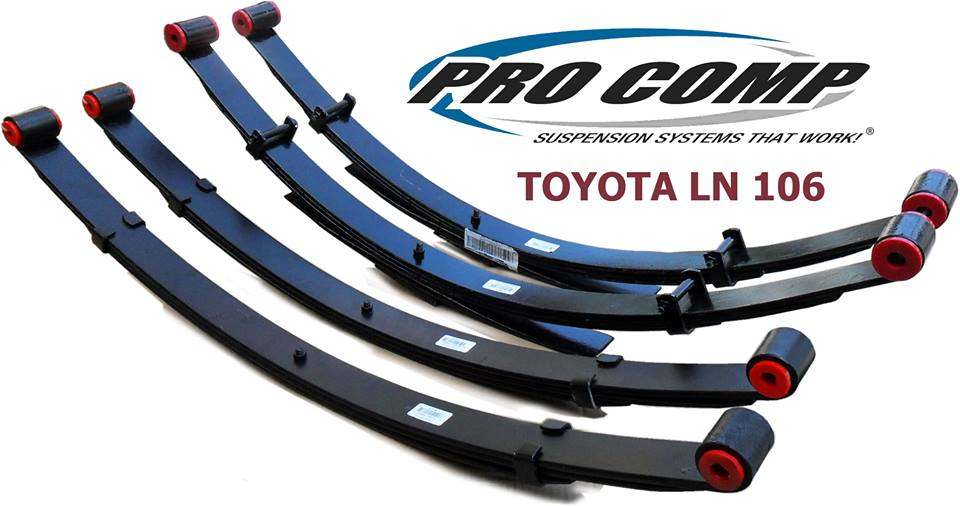 Procomp Leaf Spring For Toyota LN106 ยก 4""