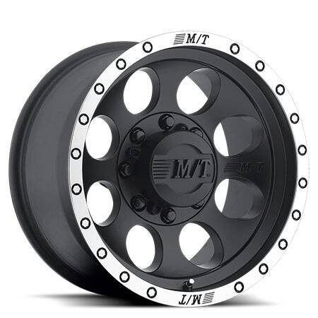 "Mickey thomson Wheel ""Classic Baja Lock Black"" 	Size 16x8 	Offset -12 	Colour Finish Black 	PCD 6x139.7 (5.5) 	รวมฝาครอบดุมล้อ 	วงละ 9,900"