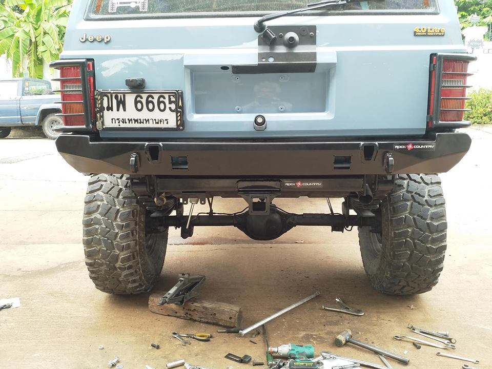 Rock Country รถ Jeep XJ Accressories