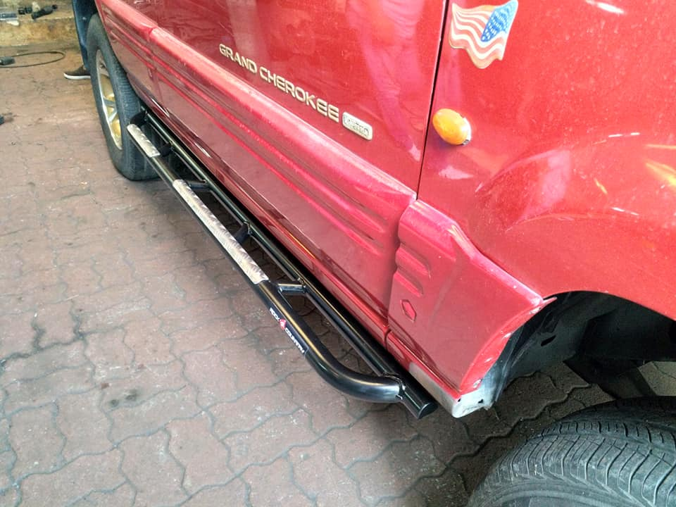 บันได Side step Jeep Zj