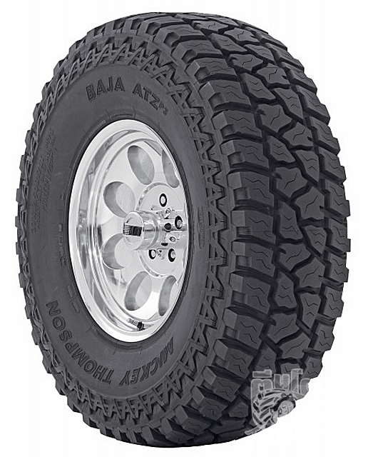 Mickey Thompson BAJA ATZp3 (MUD+ALL)  Price List  	   	33X12.50 R15 108Q                                          8,300 / เส้น  	265/75 R16    123/120Q=32X10.50R16               8,200 / เส้น  	285/75 R16    126/123Q=33X11.50R16               8,800 / เส้น  	315/75 R16    127/124Q=35X12.50R16               10,100 / เส้น  	265/70 R17    121/118Q=32X10.50R17               8,800 / เส้น  	285/70 R17    121/118Q=33X11.50R17               10,000 / เส้น  	315/70 R17    121/118Q=35X12.50R17               12,000 / เส้น  	37X12.50 R17    124P                                        15,800 / เส้น  	285/55 R20    122/119Q=33X11.50R20               12,100 / เส้น  	35X12.50 R20   121Q                                        14,600 / เส้น  	37X12.50 R20   126P                                         16,700 / เส้น