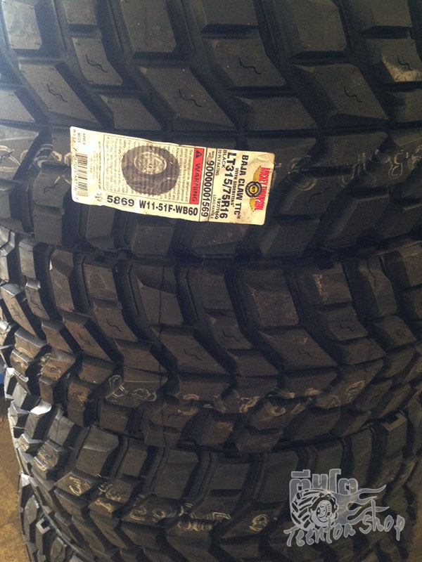 Mickey Thompson BAJA CLAW TTC (MUD)     Price List   	   	315/75 R16     127/124Q                                    10,500 / เส้น