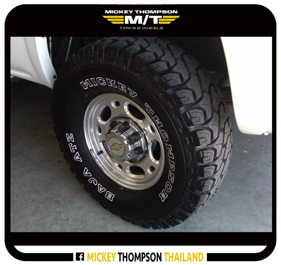 ยาง Mickey Thompso BAJA ATZ50% Road & Sand50% Dirt & Mud