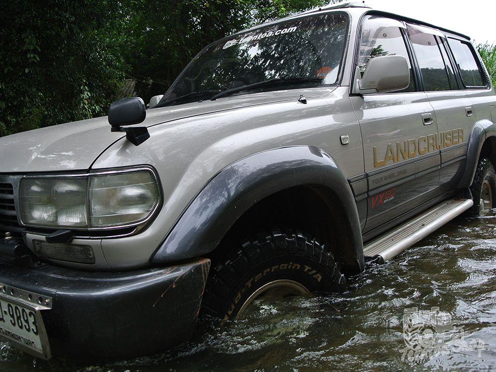 เทสสมรรถนะยางออฟโรด BFGoodrich Mud Terrain T/A KM2 โดยเว็บ Teentoa.com ครับ