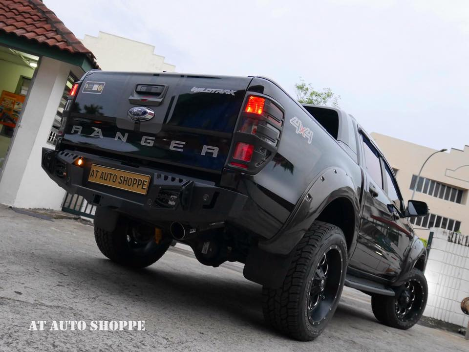 HOT จาก MalaysiaCr. AT AUTO SHOPPE- Front bar v.1- Side step v.1- Rear bumper Sporty- Upper control arms
