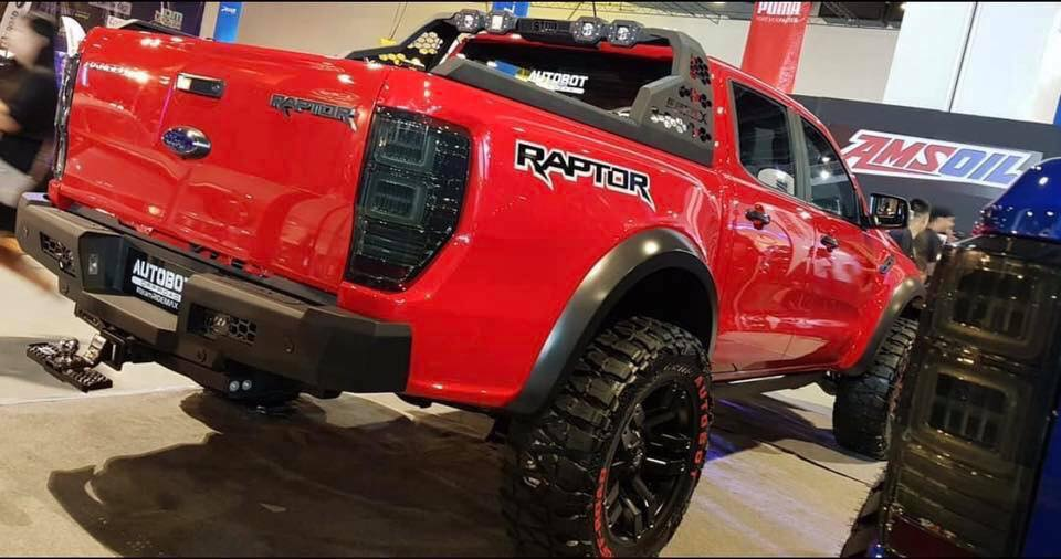 :: จัดว่าเด็ด!! #Ford Ranger Raptor #Option4WD#MCC