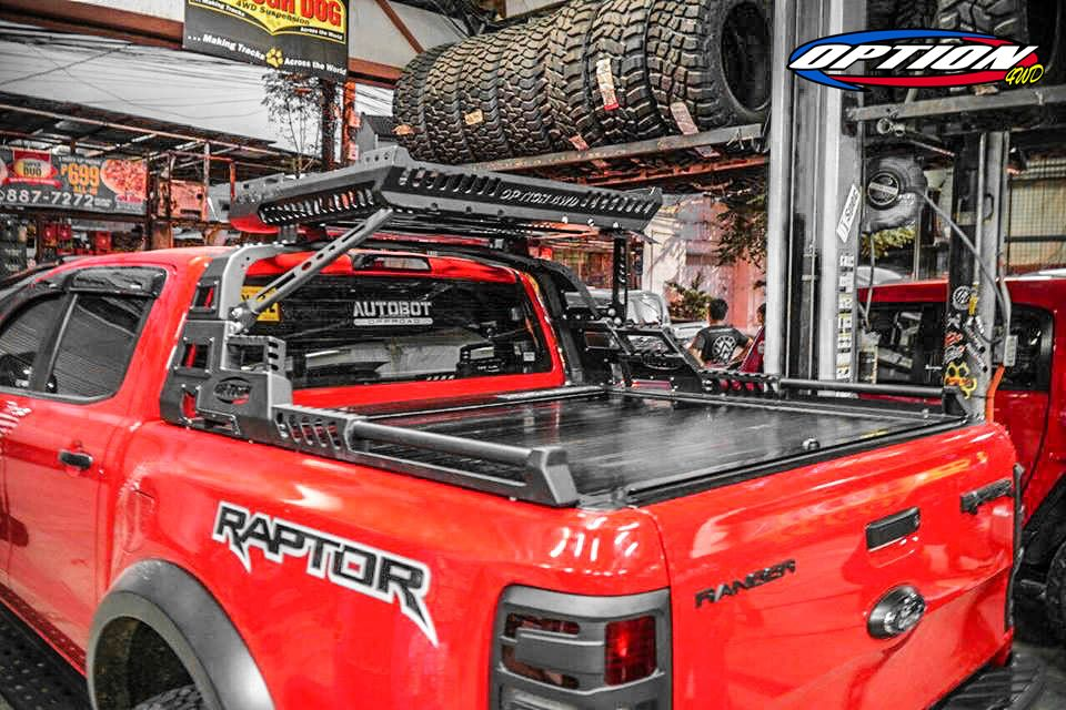 ROLL BAR WITH ROOF RACK OPTION ราคา 17,900ฺ฿ (RAPTOR)