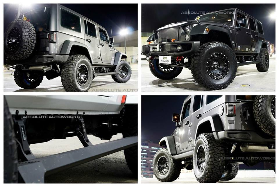 บันได Eboard for Jeep Rubicon
