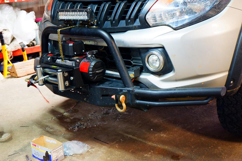 MuscleLift Winch EW-12500 ปอนด์ By T-Max