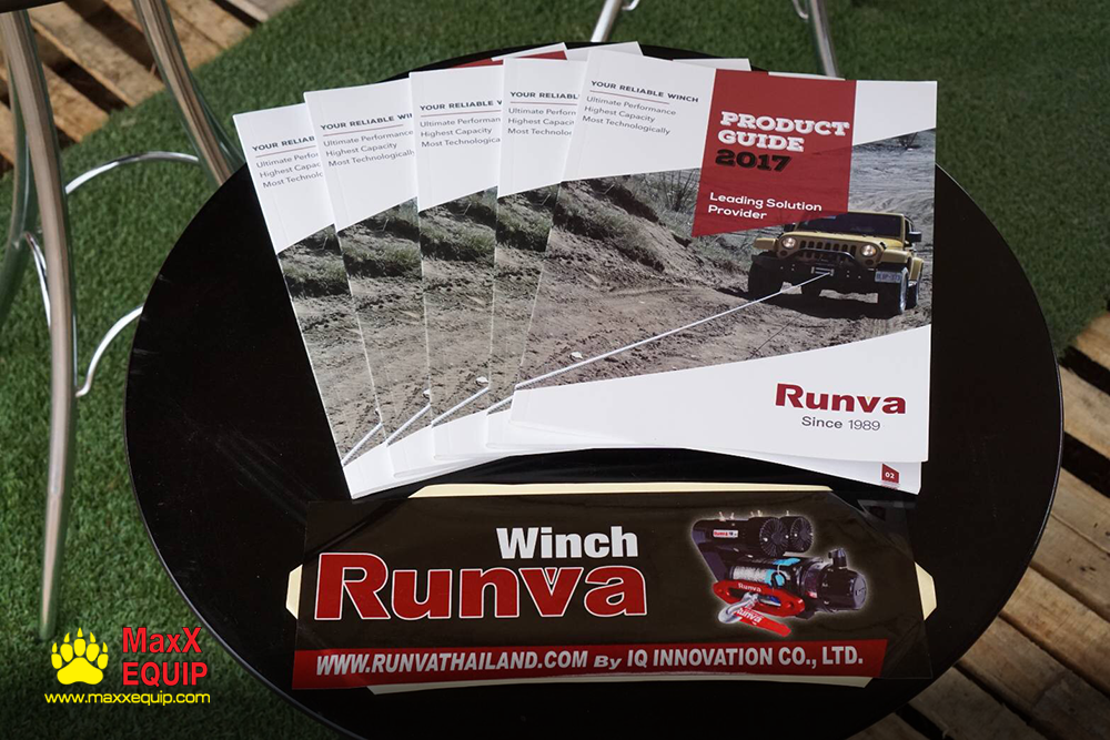 Teentoa 4Garage จำหน่าย Runva Winch and accessories