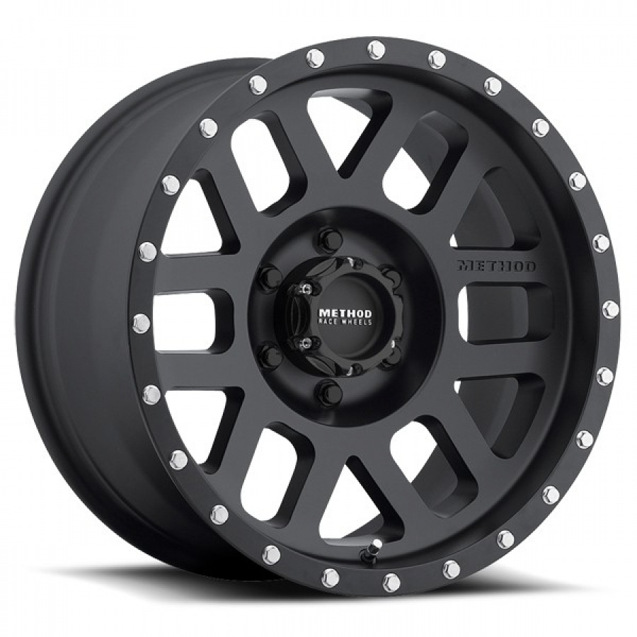 Mesh, 16x8.0, 6x5.5Bolt Pattern, 0mm ,Offset,Matte BlackFinish Product Code : 200-30668060500 SKU : MR30668060500 ราคา : 9,850 / วง