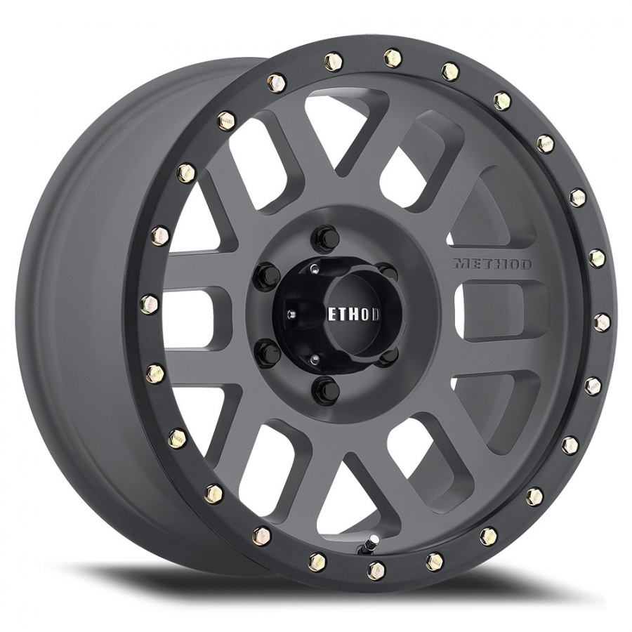 MR309 Grid, 16x8.0, 0 mm Offset, 6x5.5Bolt Pattern,Titanium Face / Matte Black Lip Product Code : 200-30968060800 SKU : MR30968060800 ราคา : 10,490 / วง