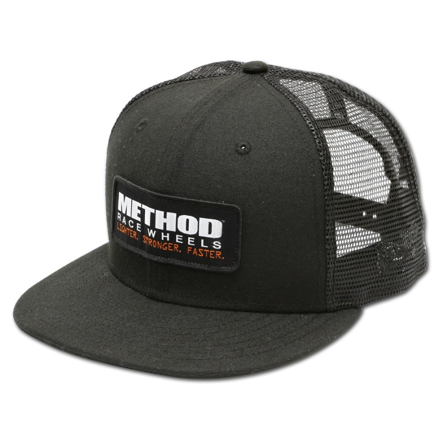 Method New Era Snapback Trucker Hat, Black Product Code : 200-11002491 SKU : 11002491 ราคา : 1,400 / ชิ้น