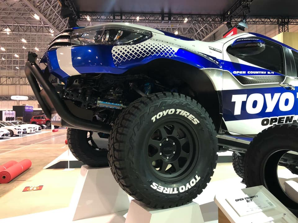Trail series is coming on งาน Tokyo Auto Salon 2019 at Toyo Tires Booth. #trailseries #methodracewheels