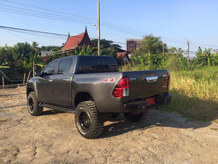 2015 Hilux Revo Rear Bumper from Phoenix Monster