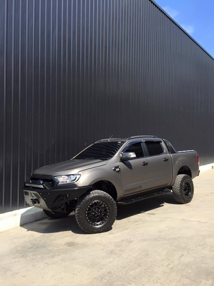 2016 Phoenix Monster Accessories Ranger T6We build high quality product. .: Hybrid Front Bumper H2.: Hybrid Armor Side Step.: Hybrid Rear bumper