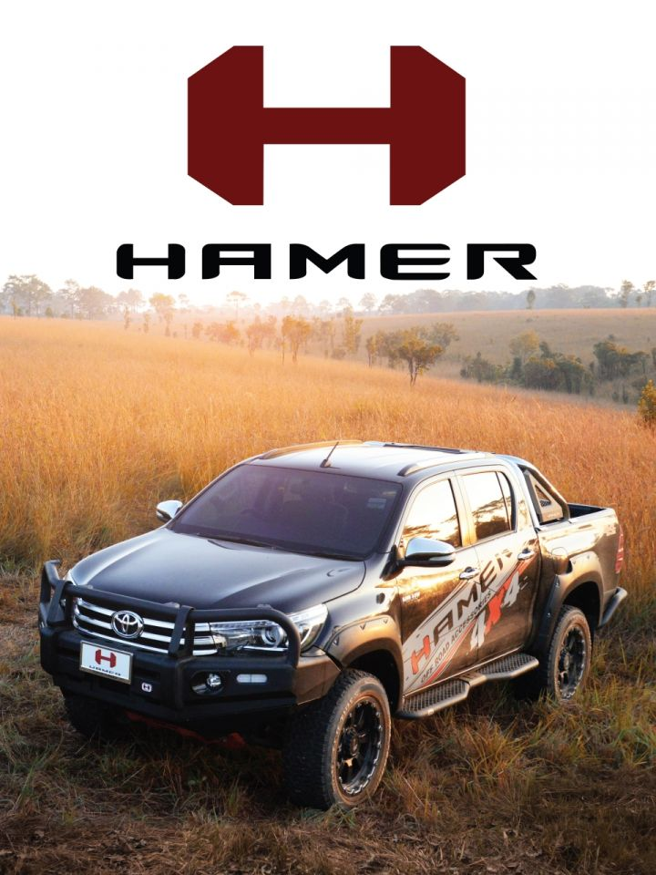 """ The Only Impossible Journey is The One You Never Begin "" HAMER4X4 ACCESSORIESสนับสนุน ทุก แรงบันดาลใจ"
