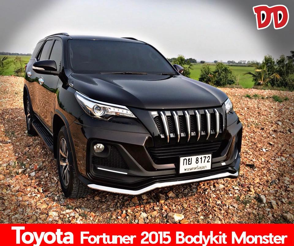 งาน Body kit Toyota Fortuner 2015-2018 Monster Design...