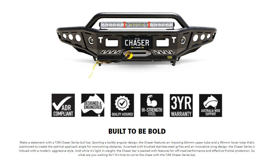 what are you waiting for ? Chaser bar สำหรับ Hilux Revo / Rocco >>> พร้อมจำหน่ายแล้ววันนี้ <<<