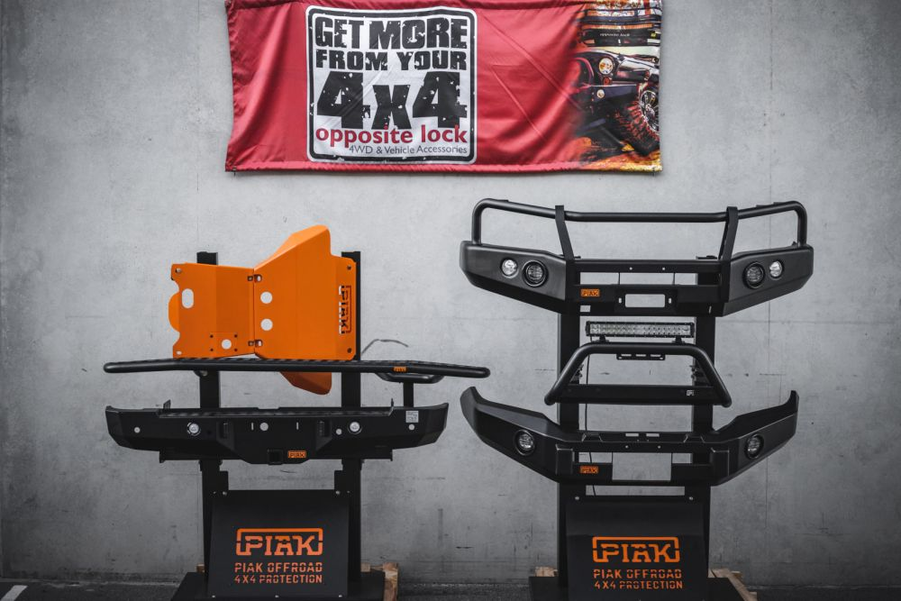 PIAK Offroad 4x4 protection equipment.PIAK offer high quality bullbars,nudge bars, side steps, rear bar, recovery points and underbody protection for most late models 4x4's at a very competitive price point, and are certainly a tough looking bit of kit! #PiakPremiumSeriesขอบคุณทุกคนที่สนับสนุน