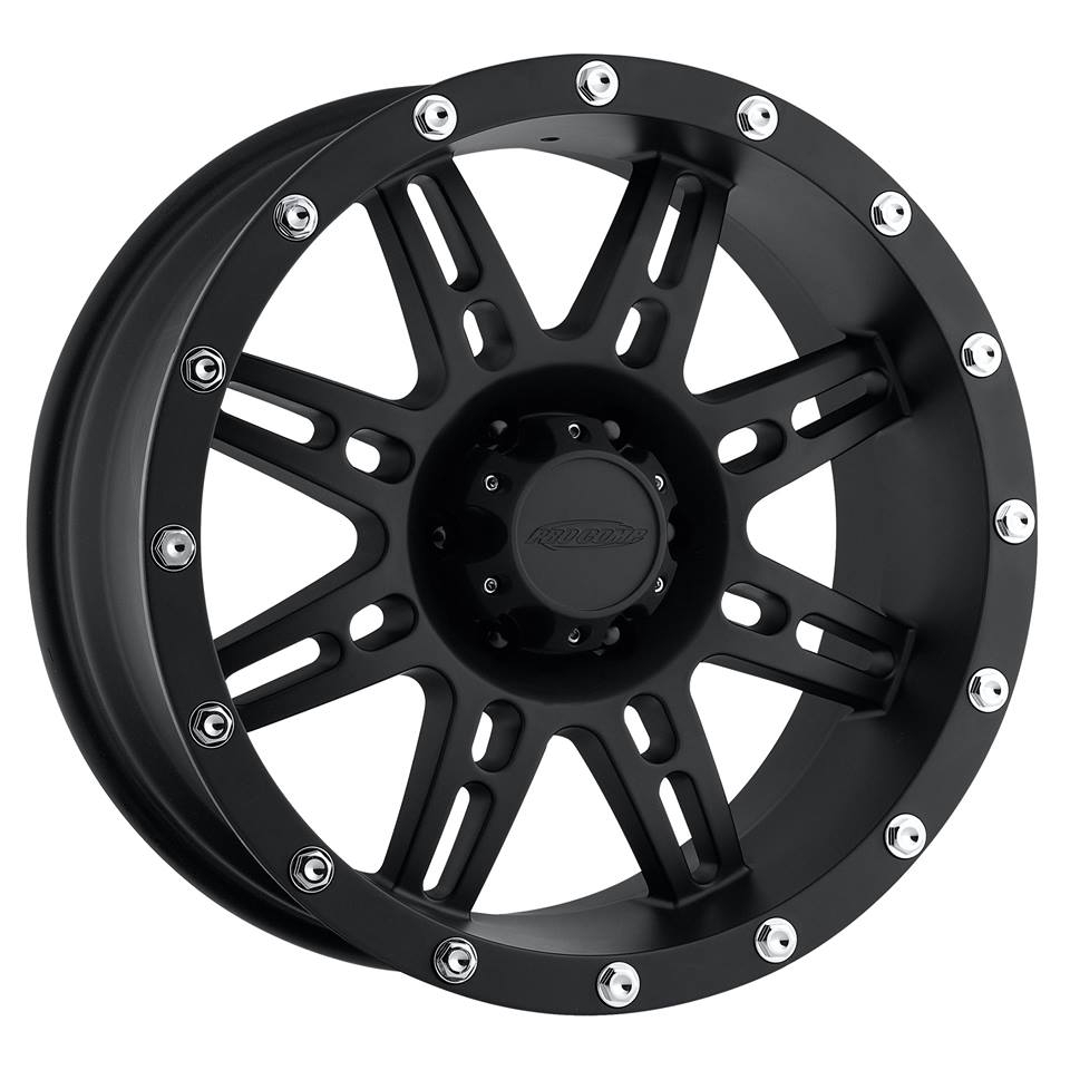 ล้อแม็ก Pro Comp Alloy Wheels รุ่น Series 31 - Matte Black 16X8, P.C.D. 6X139.7, ET 0
