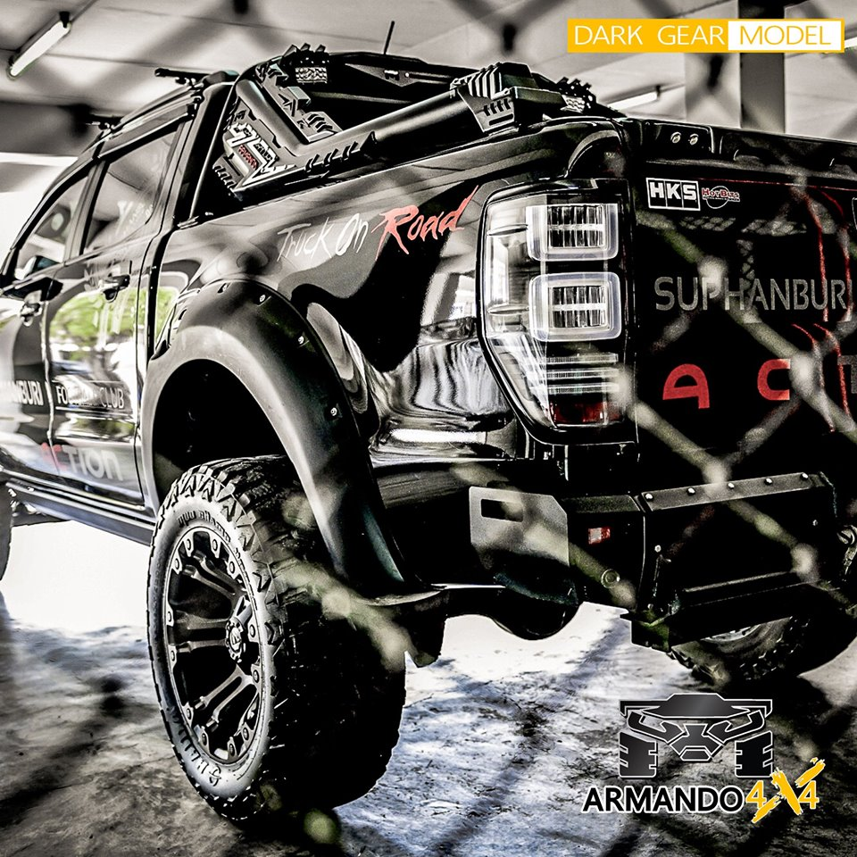Do you need a new design??? This to make your car dignified, and difference on the road Just your try - DARK GEAR Sport Bar - แต่งกระบะในเมือง เลือก ชุดแต่ง ARMANDO- โรลบาร์ยาวรุ่นใหม่ DARK GEAR G-2